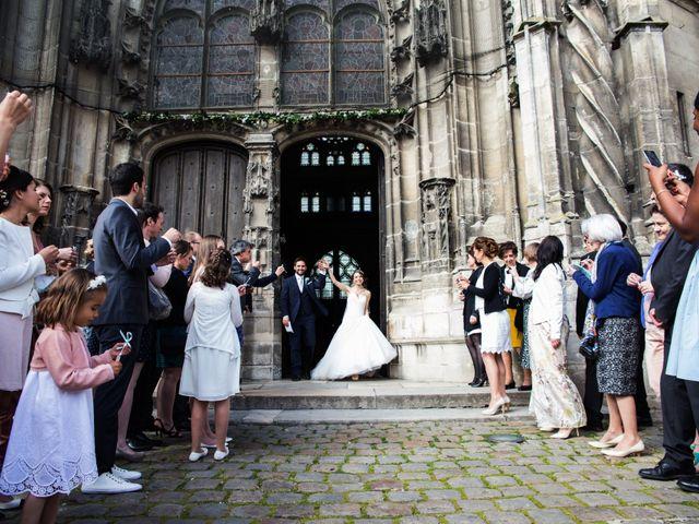 Le mariage de Jonathan et Marie-Amélie à Senlis, Oise 65