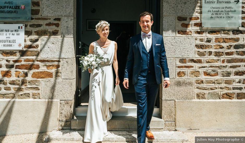 Le mariage de Laurent et Marie à Carolles, Manche