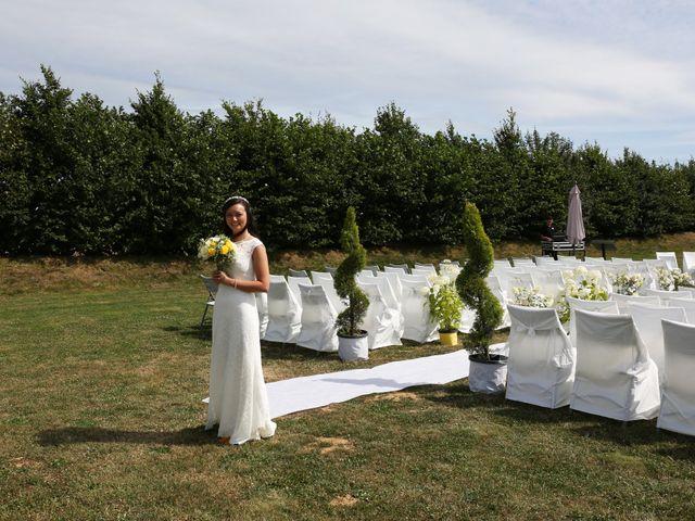 Le mariage de Maxime et Diana à Sainte-Honorine-du-Fay, Calvados 42