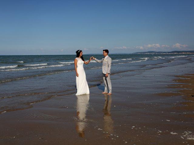 Le mariage de Maxime et Diana à Sainte-Honorine-du-Fay, Calvados 86