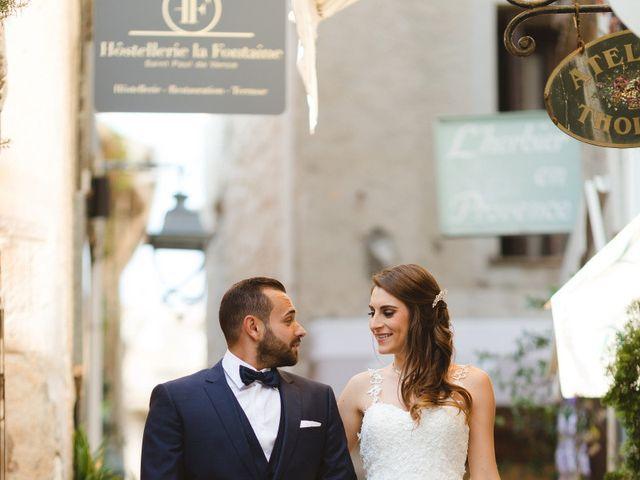 Le mariage de Pierre et Marine à Saint-Paul, Alpes-Maritimes 117