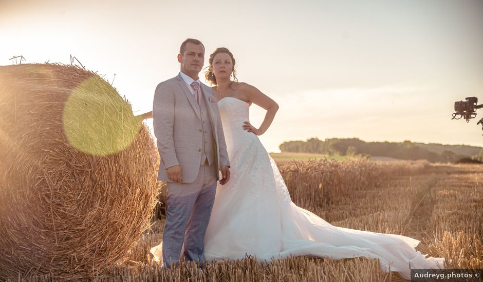 Le mariage de Victor et Elodie à Saint-Omer-en-Chaussée, Oise
