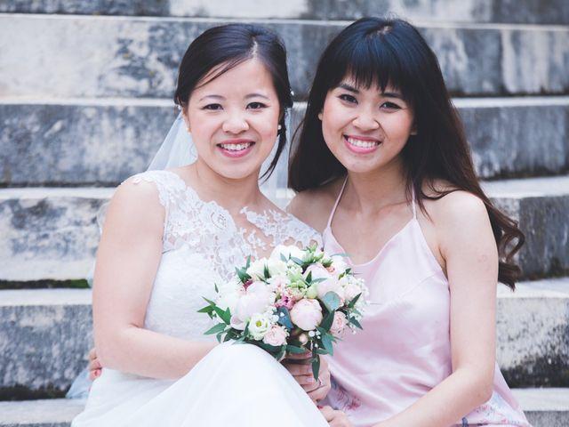 Le mariage de James et Hà (Mariée) à Auch, Gers 9