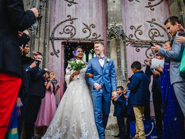 Le mariage de Alexis et Jayanie à Paris, Paris 35