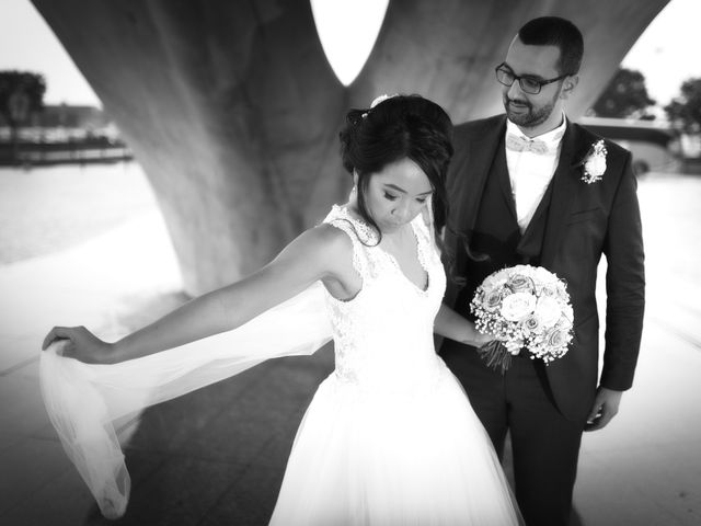 Le mariage de Mounir et Phimsuda à Décines-Charpieu, Rhône 2