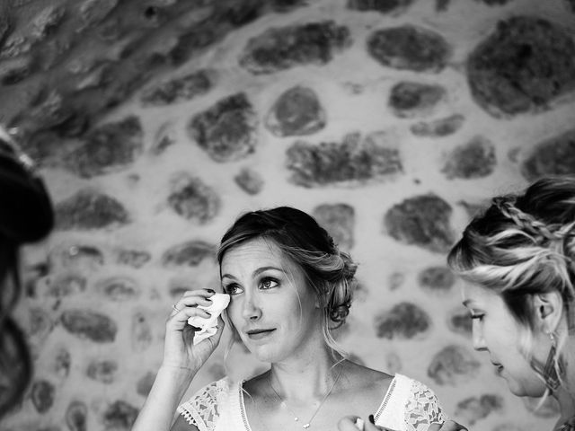 Le mariage de Corentin et Samantha à Jaujac, Ardèche 11