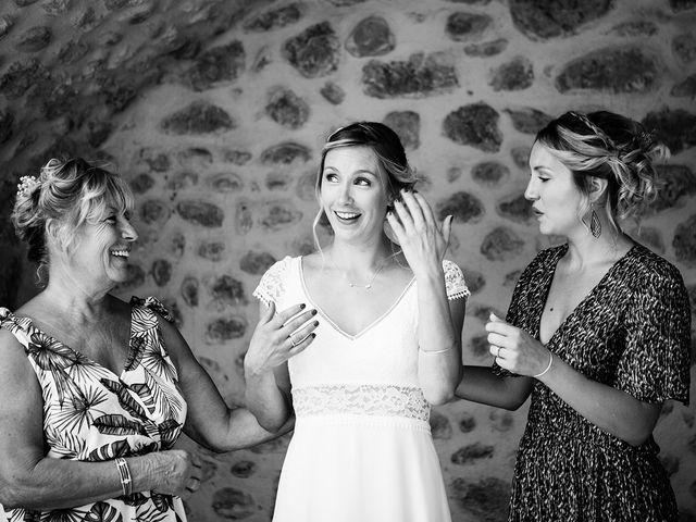 Le mariage de Corentin et Samantha à Jaujac, Ardèche 12