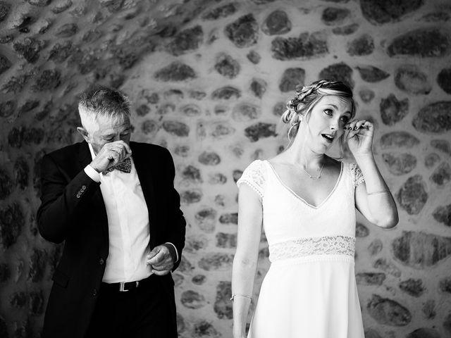 Le mariage de Corentin et Samantha à Jaujac, Ardèche 13
