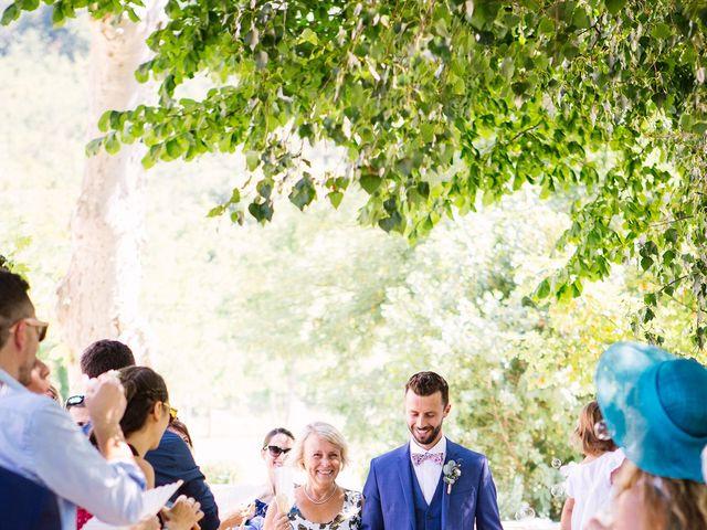 Le mariage de Corentin et Samantha à Jaujac, Ardèche 14