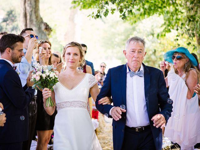 Le mariage de Corentin et Samantha à Jaujac, Ardèche 15