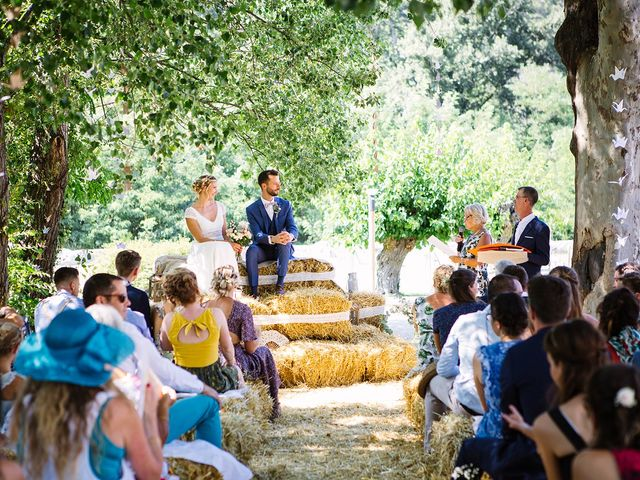 Le mariage de Corentin et Samantha à Jaujac, Ardèche 17