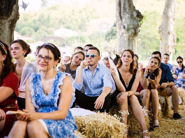 Le mariage de Corentin et Samantha à Jaujac, Ardèche 20