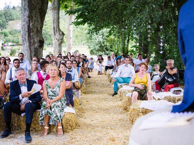 Le mariage de Corentin et Samantha à Jaujac, Ardèche 24