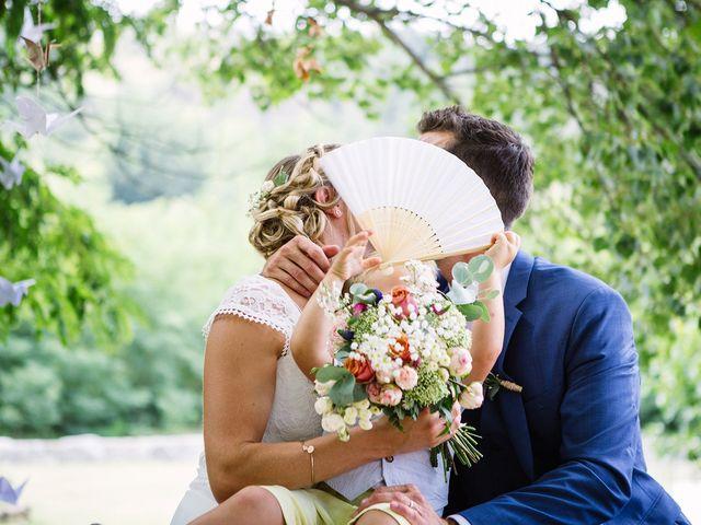 Le mariage de Corentin et Samantha à Jaujac, Ardèche 25
