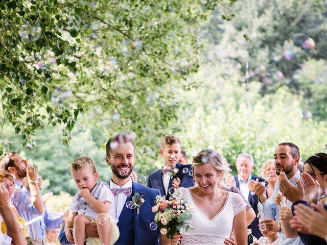 Le mariage de Corentin et Samantha à Jaujac, Ardèche 29