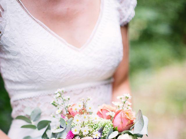 Le mariage de Corentin et Samantha à Jaujac, Ardèche 33