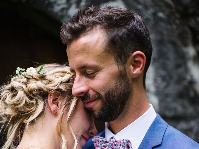 Le mariage de Corentin et Samantha à Jaujac, Ardèche 40