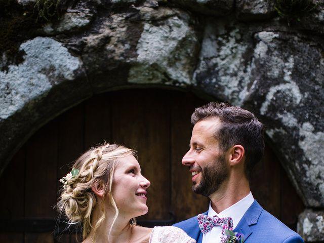 Le mariage de Corentin et Samantha à Jaujac, Ardèche 41