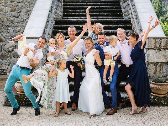 Le mariage de Corentin et Samantha à Jaujac, Ardèche 45
