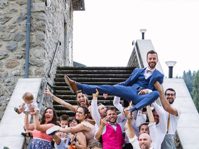 Le mariage de Corentin et Samantha à Jaujac, Ardèche 46