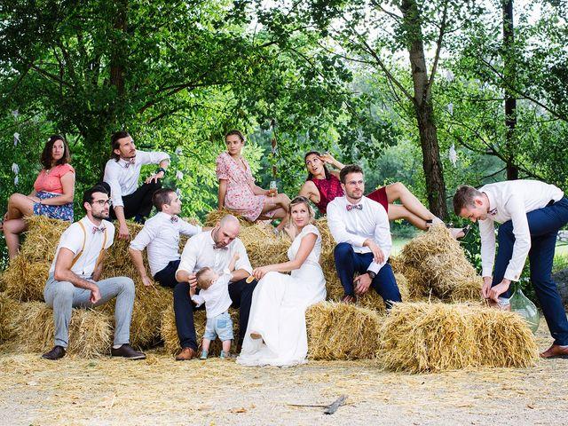 Le mariage de Corentin et Samantha à Jaujac, Ardèche 58