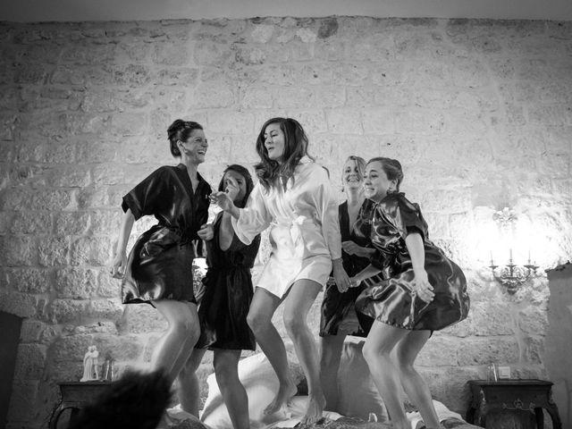 Le mariage de Thibaut et Barbara à Grignols, Gironde 11