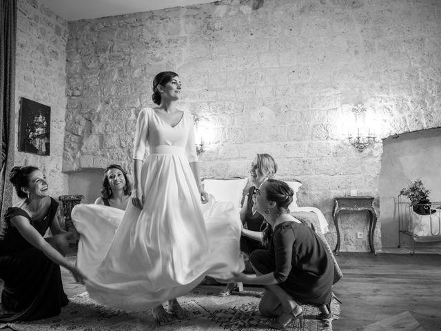 Le mariage de Thibaut et Barbara à Grignols, Gironde 19