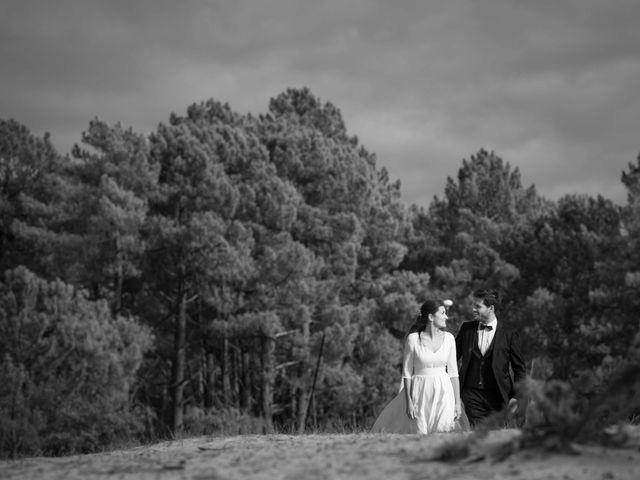 Le mariage de Thibaut et Barbara à Grignols, Gironde 40