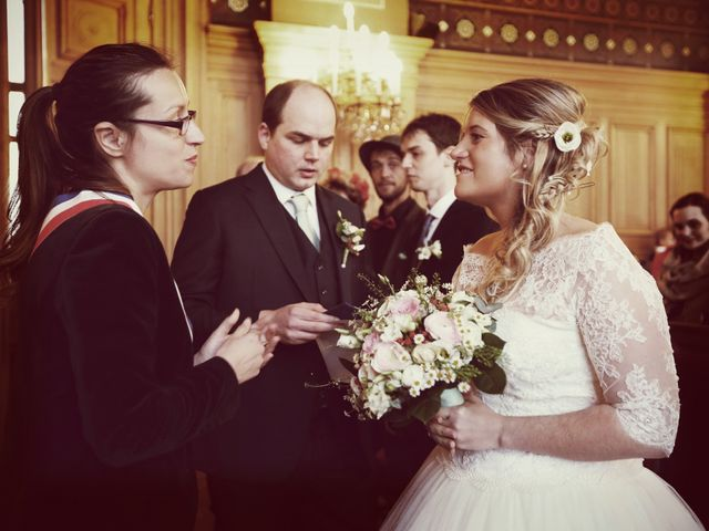 Le mariage de Nicolas et Delphine à Paris, Paris 16