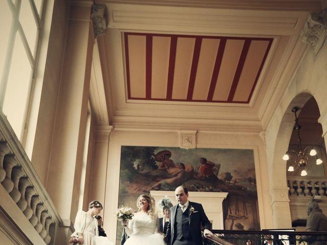 Le mariage de Nicolas et Delphine à Paris, Paris 17