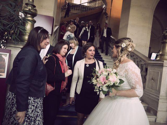 Le mariage de Nicolas et Delphine à Paris, Paris 20