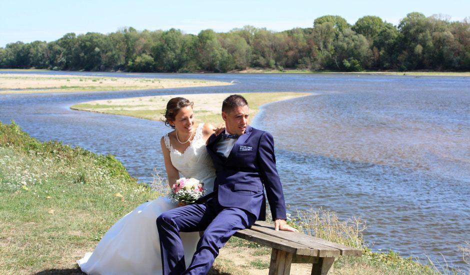 Le mariage de Geoffrey et Cynthia à Saint-Patrice, Indre-et-Loire