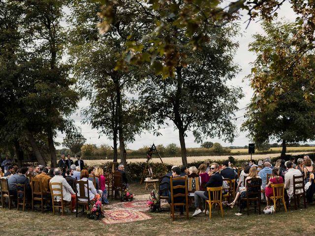 Le mariage de Maxime et Angèle à Maulévrier, Maine et Loire 100