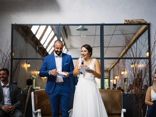 Le mariage de Gautier et Emeline à Bourg-de-Thizy, Rhône 13