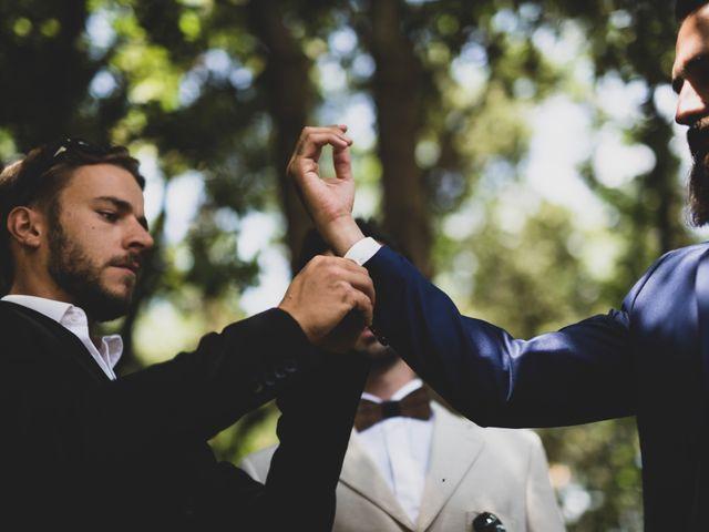 Le mariage de Guillaume et Laurie à Les Mages, Gard 12