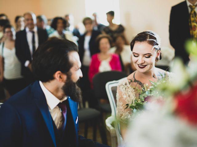 Le mariage de Guillaume et Laurie à Les Mages, Gard 14