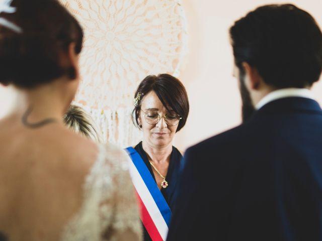 Le mariage de Guillaume et Laurie à Les Mages, Gard 16