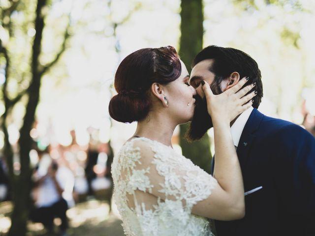 Le mariage de Guillaume et Laurie à Les Mages, Gard 31