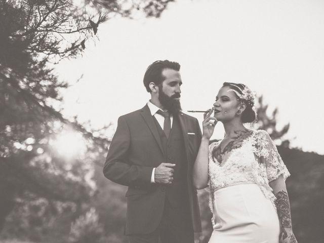 Le mariage de Guillaume et Laurie à Les Mages, Gard 33