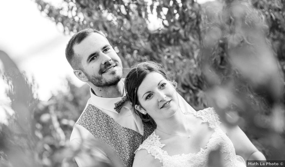 Le mariage de Aurélien et Elodie à Trouillas, Pyrénées-Orientales