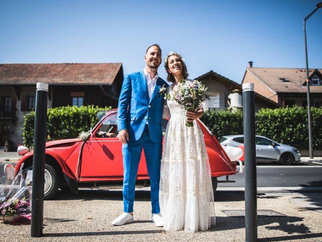 Le mariage de Mallory et Bryonie à Veigy-Foncenex, Haute-Savoie 12