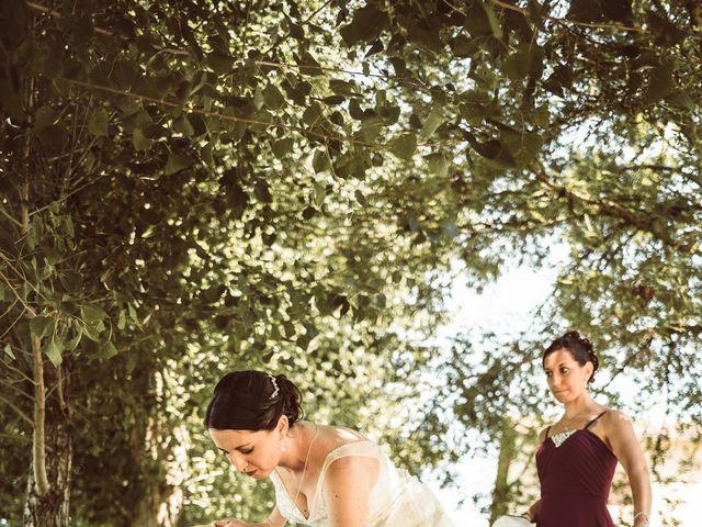 Le mariage de Cédric et Céline à Villetoureix, Dordogne 9