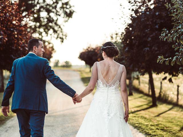 Le mariage de Cédric et Céline à Villetoureix, Dordogne 43