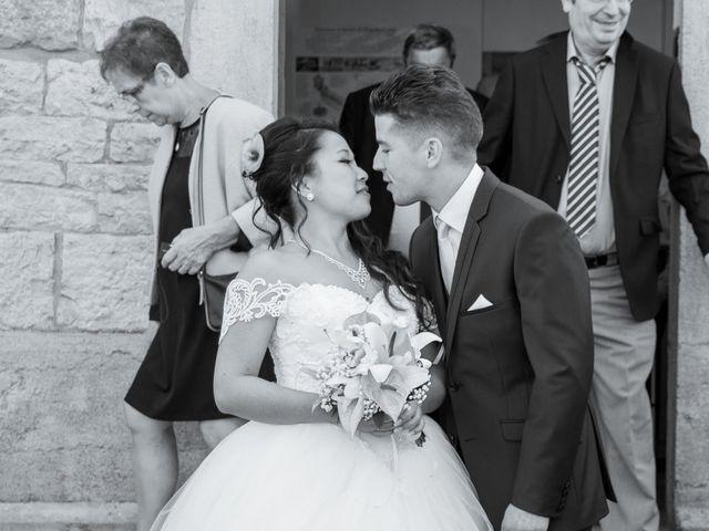 Le mariage de Amaury et Phuong à Trouhans, Côte d'Or 5