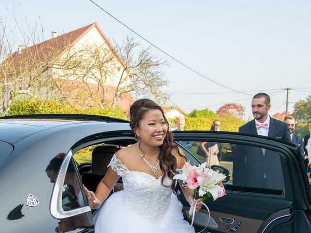 Le mariage de Amaury et Phuong à Trouhans, Côte d'Or 8