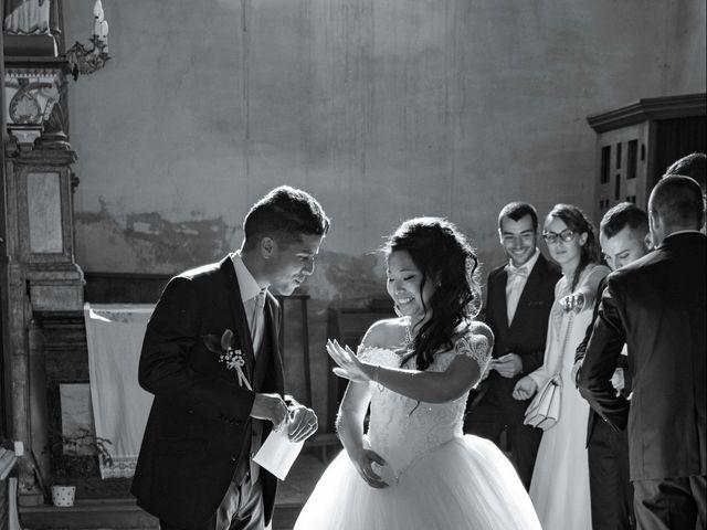 Le mariage de Amaury et Phuong à Trouhans, Côte d'Or 12