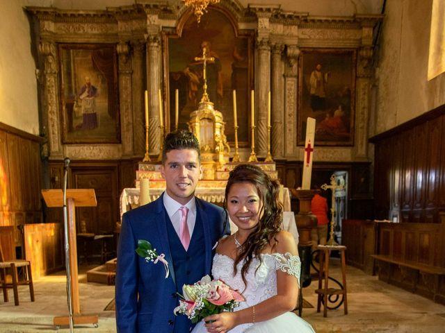 Le mariage de Amaury et Phuong à Trouhans, Côte d'Or 14