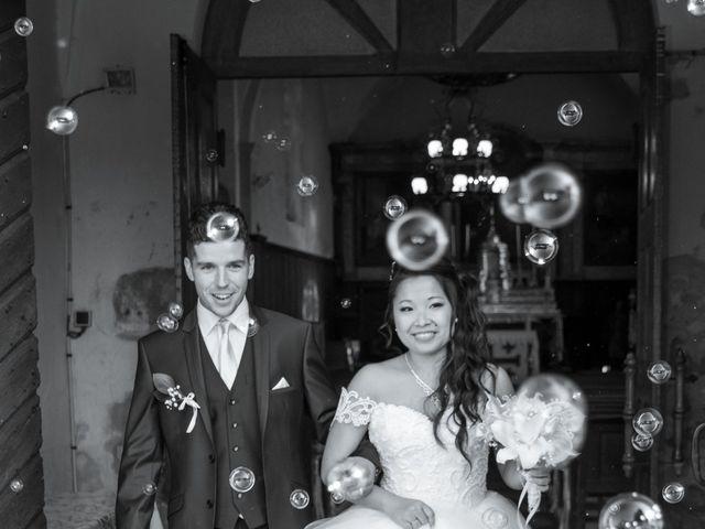 Le mariage de Amaury et Phuong à Trouhans, Côte d'Or 15