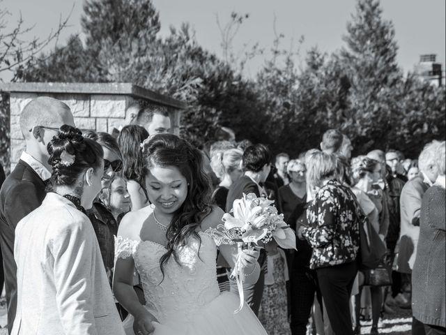 Le mariage de Amaury et Phuong à Trouhans, Côte d'Or 16