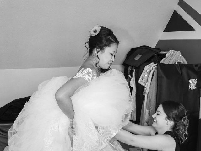 Le mariage de Amaury et Phuong à Trouhans, Côte d'Or 28